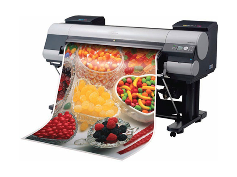 Vinyl Printing in full colour, wide choice of materials and